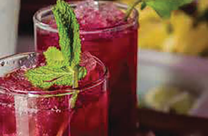 Special Mocktails - Blueberry Mojito