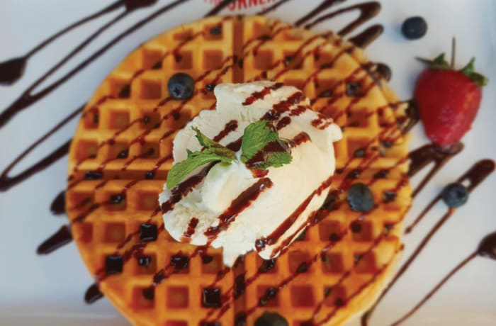 Sweet Breakfast - Belgian Waffles
