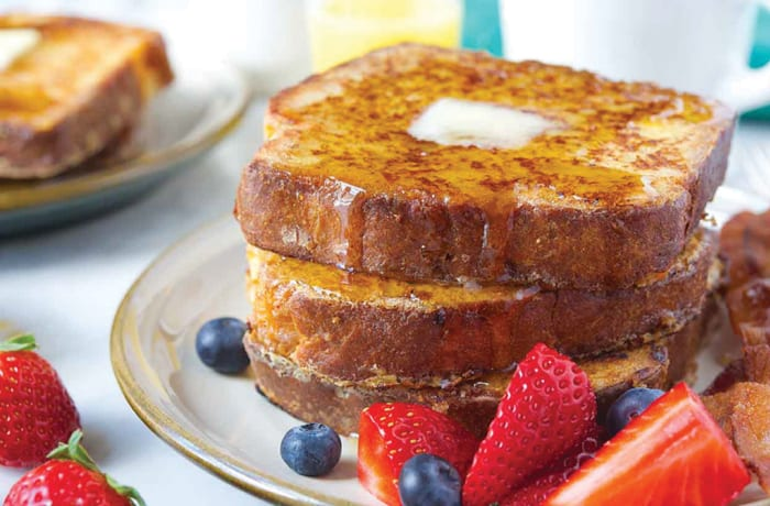 Sweet Breakfast - Brioche French Toast