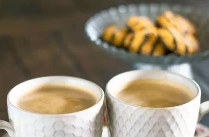Hot Drinks - Cookies & Mocha Latte