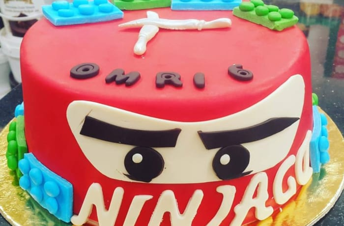 Cakes to Order - Ninja themed Cake