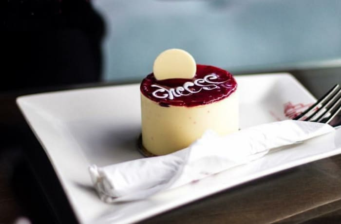 Treats to Delight -  Sour Cream filled Cheese Cake