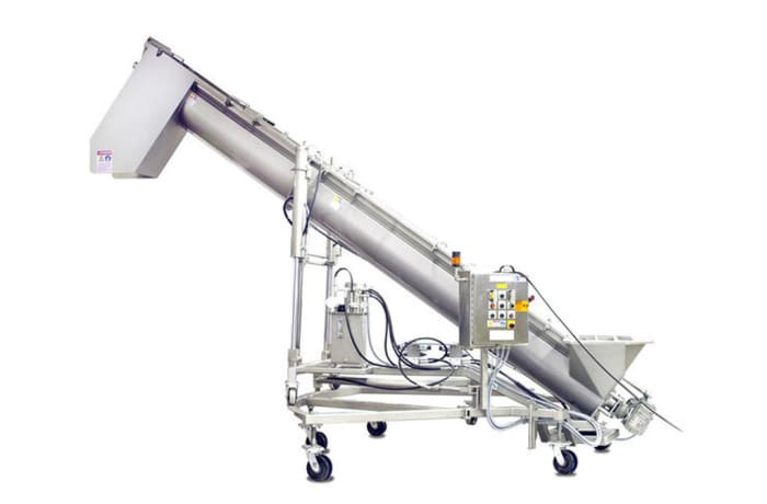 Material Handling Equipment - Cozzini CSC Hydraulic Screw Conveyor