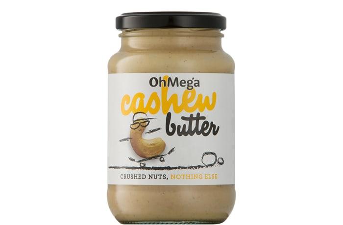 Ohmega Cashew Butter Crushed Nuts, Nothing Else 400g