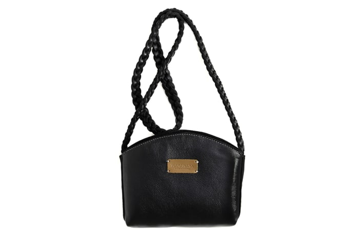 Crossover leather bag