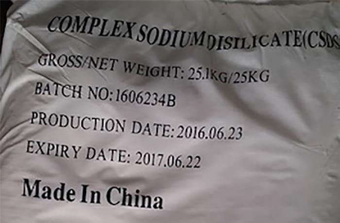 Complex Sodium Di-Silicate (CSDS)