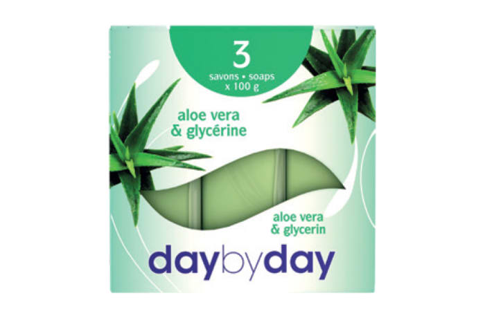Day by Day Toilet Soap with Aloe Vera & Glycerine