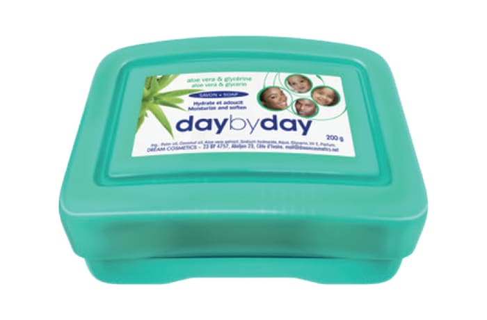 Day by Day Toilet Soap with Aloe Vera and Glycerine