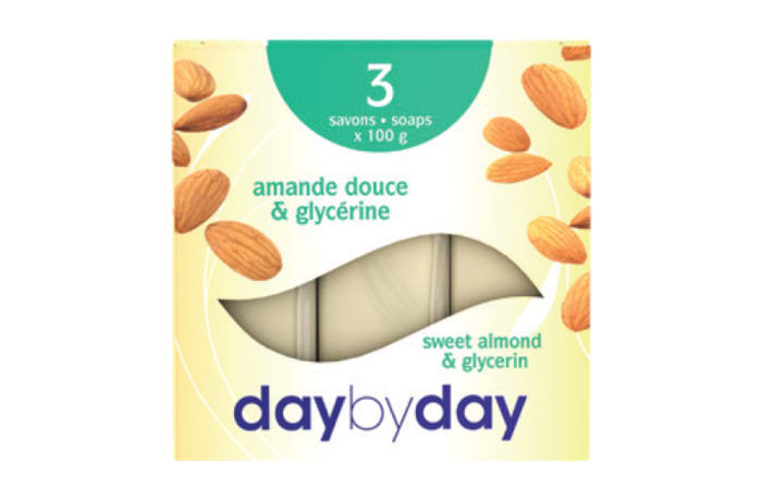 Day by Day Toilet Soap with Sweet Almond and Glycerine