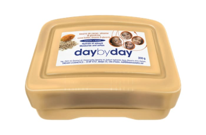 Day By Day Toilet Soap with Cocoa butter, sesame & glycerine
