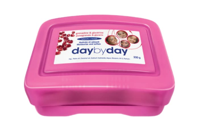 Day by Day Toilet Soap with Grenadine and Glycerine