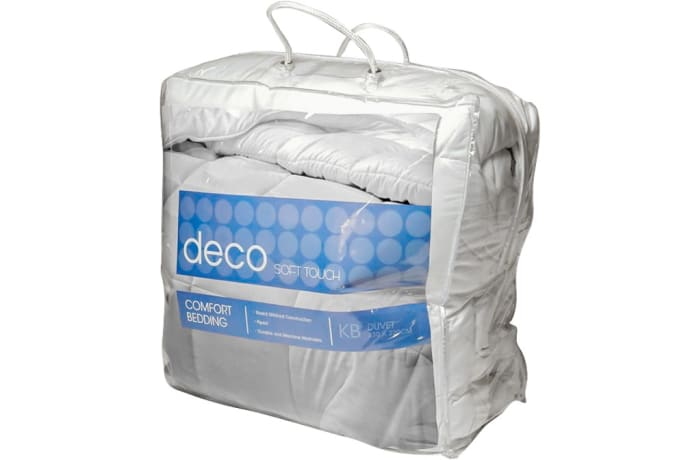 Deco Soft Touch Comfort Bedding  Duvet