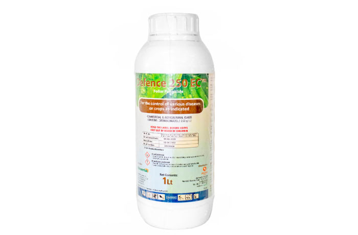 Defence 250 Ec   Commercial & Agricultural Class Foliar Fungicide