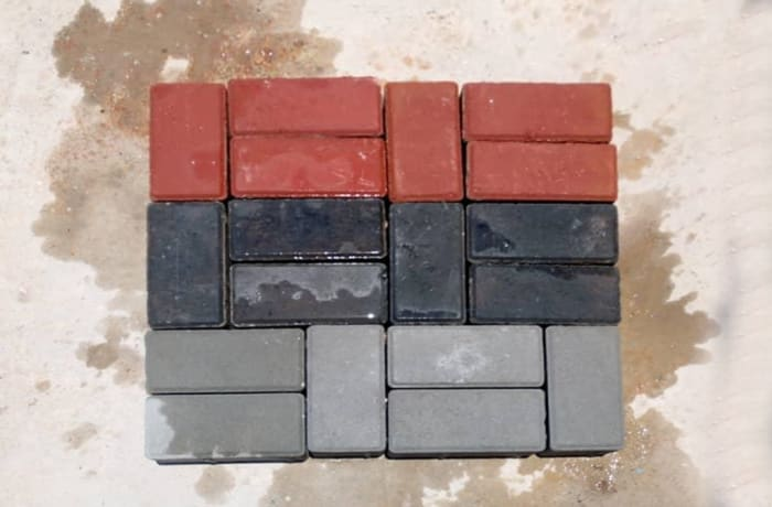 Rectangular brick shaped paver