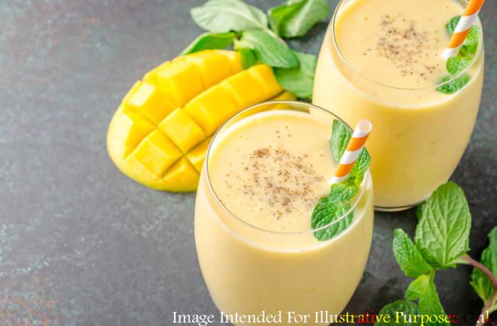Dessert & Beverages - Mango Lassi