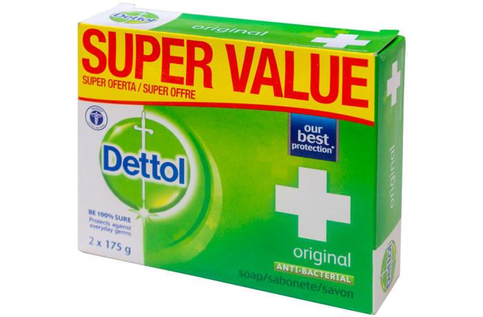 Dettol Anti-bacterial Soap Original 2x175g