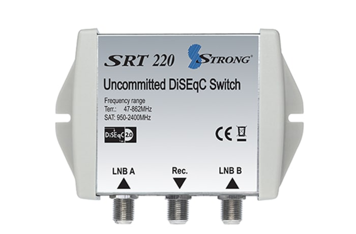 Digital Satellite Equipment Control - DiSEqC switch SRT 220