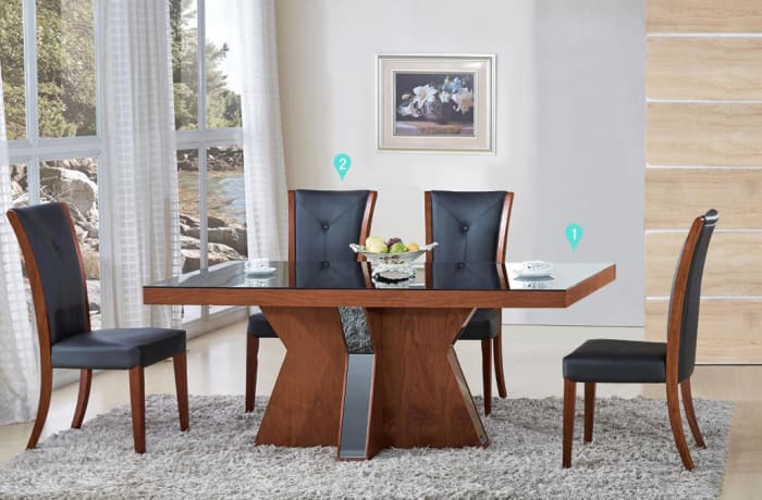 Dining table & Dining chairs 6763