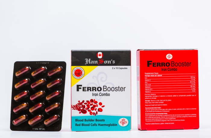Ferro Booster - Iron Combo (pack)