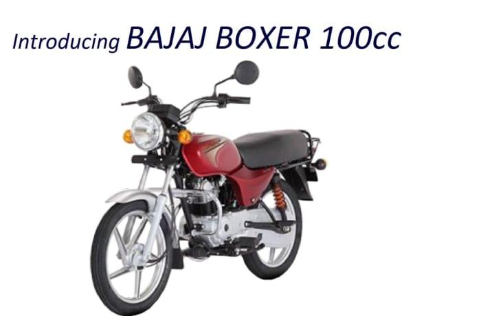 Introducing BAJAJ Boxer 100cc image