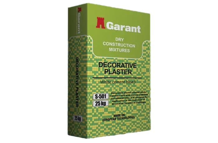 Dry Construction Mixtures - Decorative Plaster
