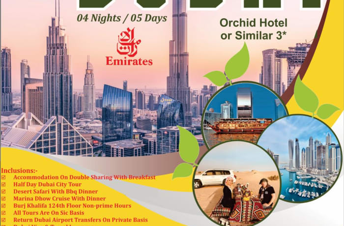 Great deal from Lusaka and Ndola to Dubai  image
