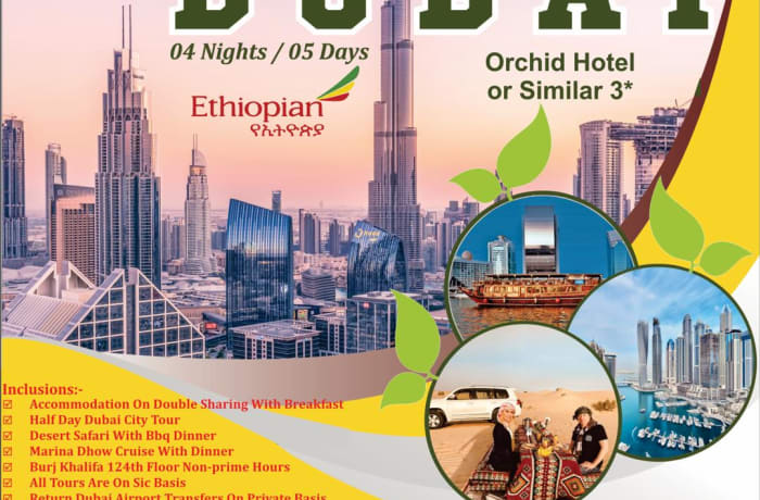 04 Nights / 05 days in Dubai image