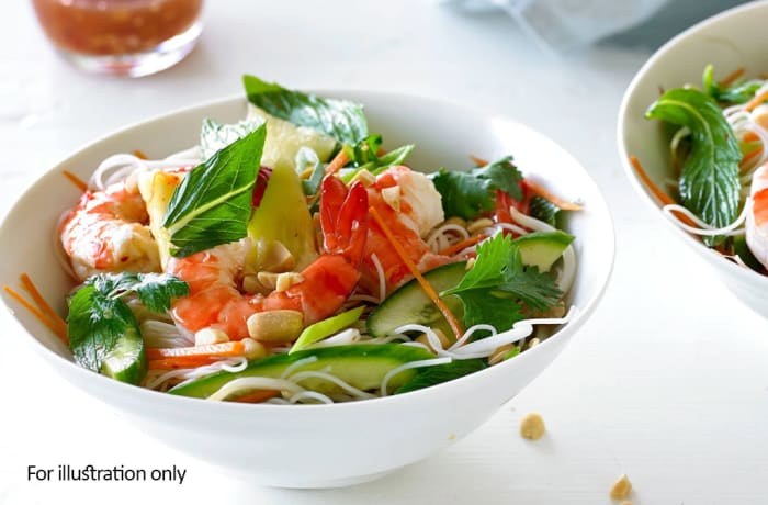 Salads - Prawn and Pineapple Salad