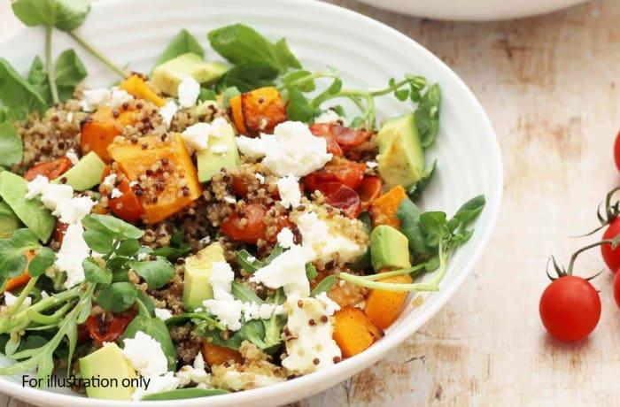 Salads - Quinoa, Roasted Butternut and Feta Salad