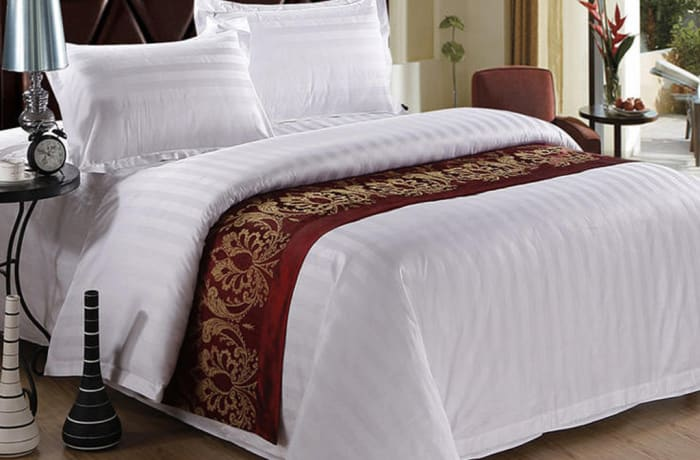 Duvet covers / Bed sheets / Bed runners / Cushion covers - Model OLA-BD01