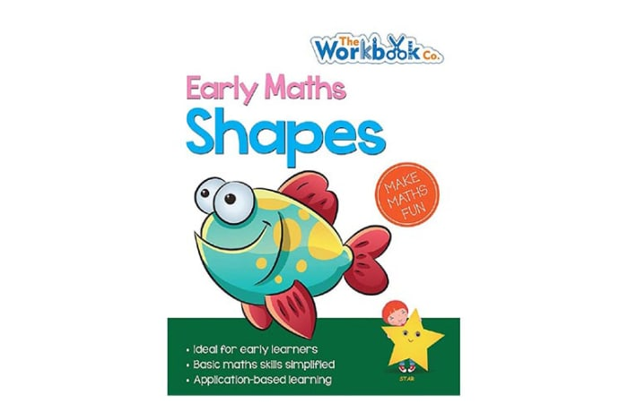 Early Maths  Shapes Practice Work Book  for Pre-School & Early Learners