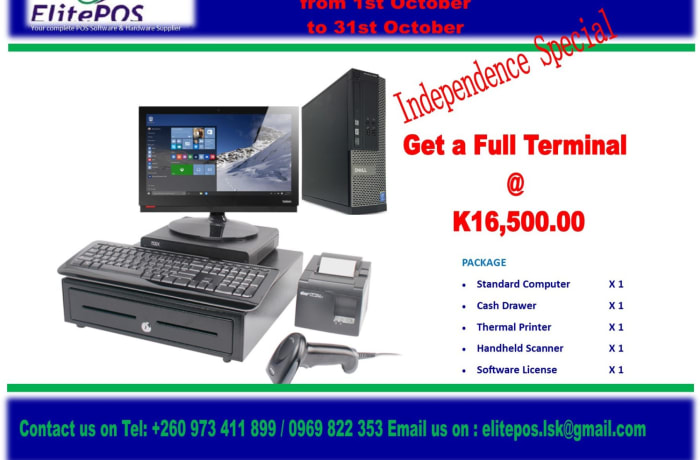 Save K6,800 on a Point of sale system image