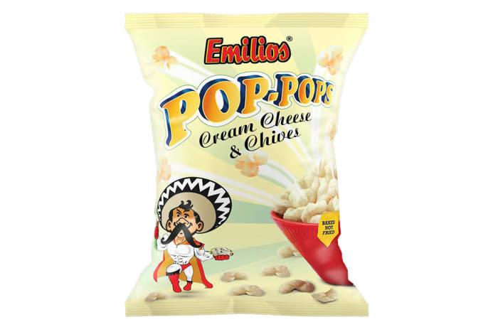 Baked Emilios  Pop-Pops Cream Cheese & Chives 12 X 150g