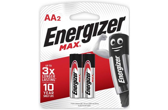 Energizer 2AA Max - Alkaline Batteries