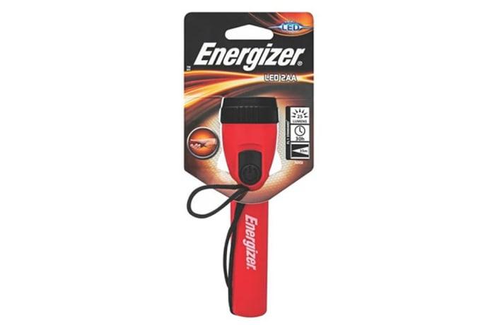 Energizer LED 2AA Plastic Flashlight