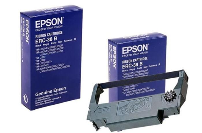 Epson Black Fabric Ribbon ERC-38B