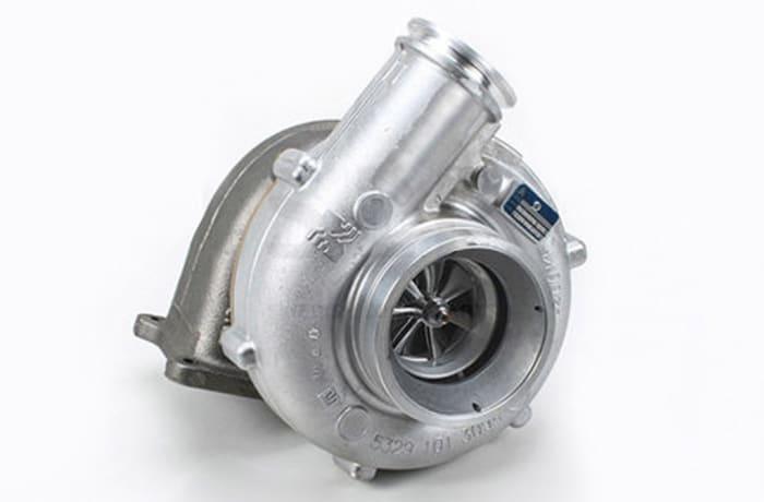 Volvo FM9   Turbocharger