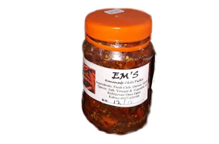 E M's Home Made Chili Pickle