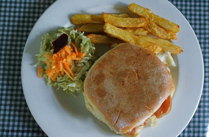 Toasted Sandwiches - Egg & Tomato
