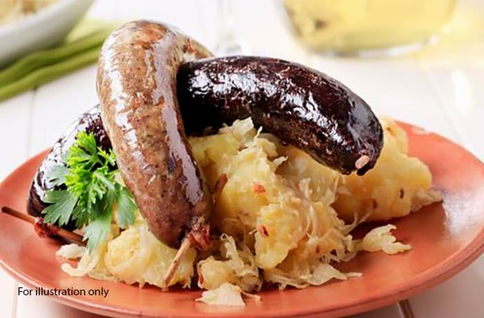 Lunch - Hungarian Sausage