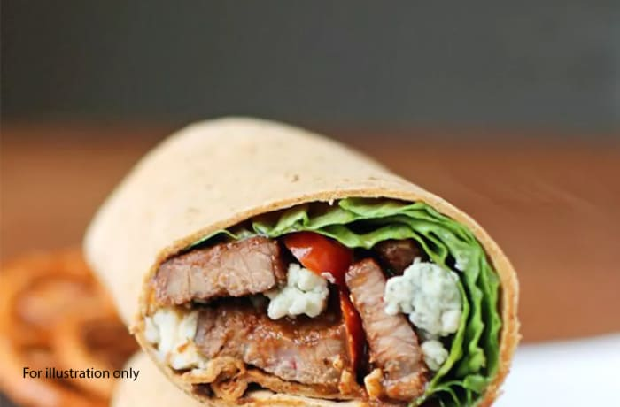 Lunch - Thai Beef Wrap