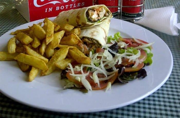 Lunch - Lemon Chicken Wrap