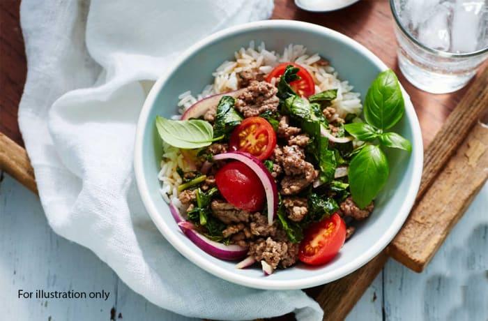 Lunch - Thai Beef Stir Fry