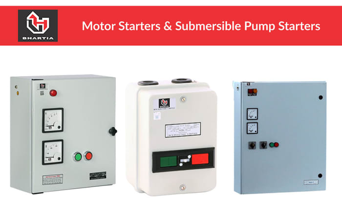 Motor Starters & Submersible Pump Starters