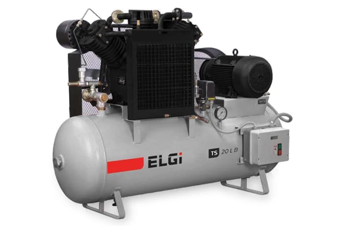 Single & 2 stage industrial air compressors