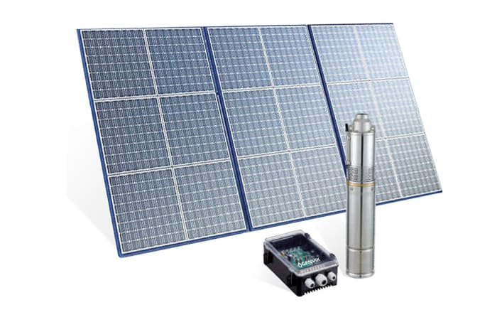 Solar Submersible Pumps - TS Series
