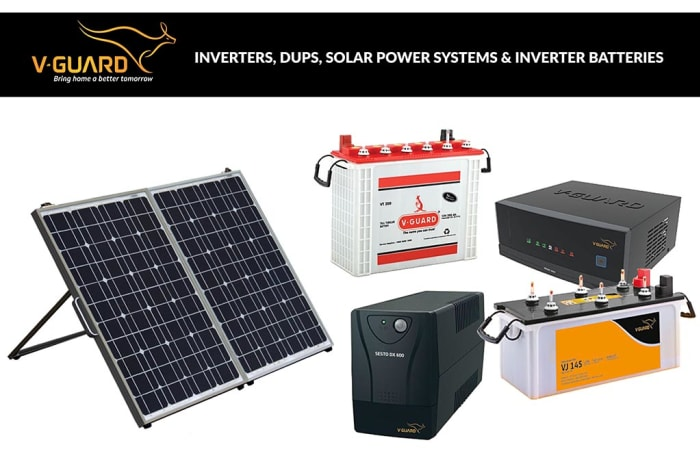 V-Guard - Inverters, DUPS, Solar Power Systems & Inverter Batteries