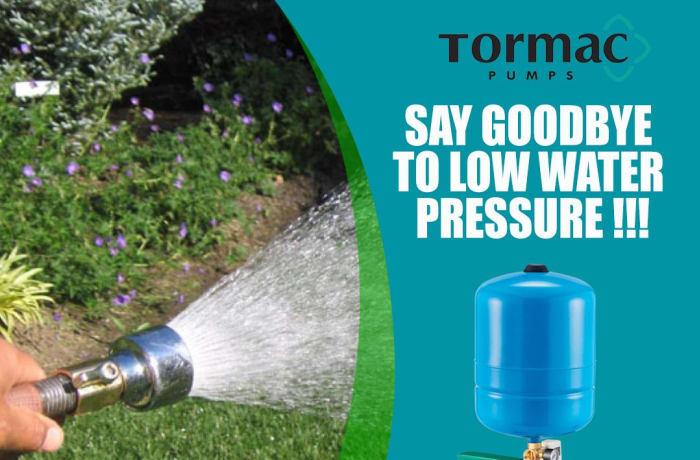 Say Goodbye to low water pressure   image