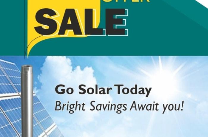 Massive savings on solar products image