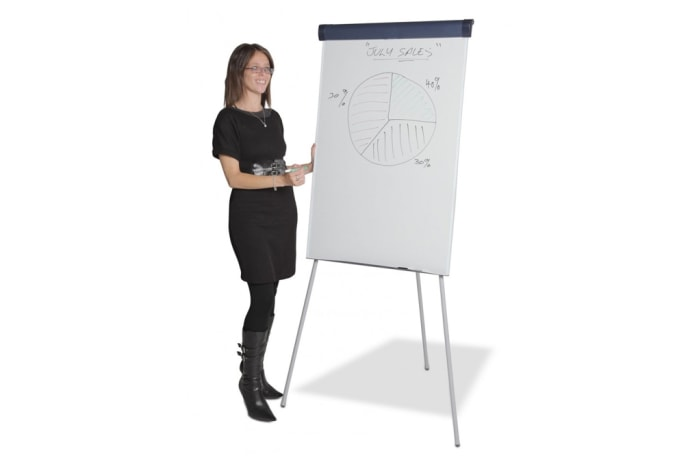 Flip Chart Stand With White Board